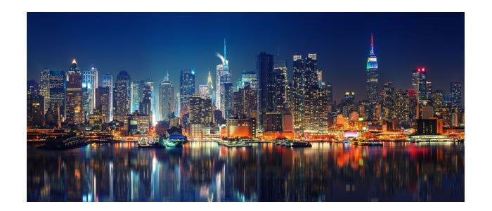 Amazing City Lights At Night