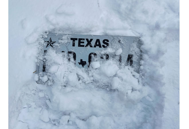 What Happened in Texas in February?